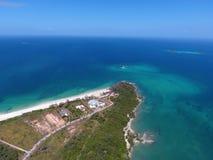 Viveros island. A beautiful island in las perlas, Panam stock photos