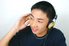 Vivez avec la musique Image libre de droits