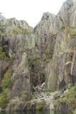 Vivian板岩采石场,北部威尔士 库存图片