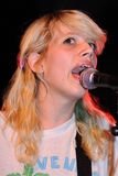 Vivian Girls (band from Brooklyn) perfoms at Razzmatazz stage Royalty Free Stock Image
