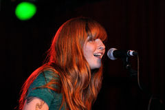 Vivian Girls performs at Razzmatazz Stock Photos