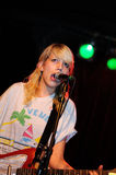 Vivian Girls performs at Razzmatazz Stock Image