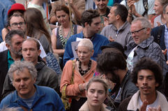 Vivian Westwood Climate change Demo london 2016 Royalty Free Stock Photography