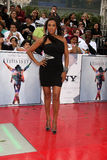 Vivica A Fox. Arriving at the 'This is It' Premiere Nokia Theater at LA Live Los Angeles,   CA October 27, 2009 Royalty Free Stock Photo