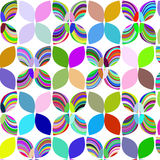Vivid abstract geometric background  design Royalty Free Stock Photos