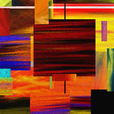Vivid abstract squares Stock Photography