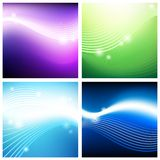 Vivid aerial backgrounds Royalty Free Stock Images