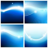 Vivid backgrounds of blue sky Stock Photography