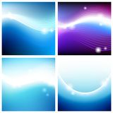 Vivid backgrounds of space Stock Photos
