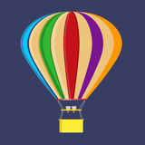 Vivid Balloon. Picture of Vivid colourfull Balloon Stock Photography
