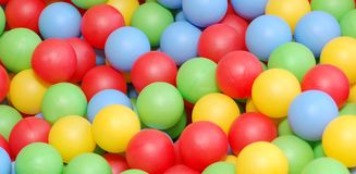 Vivid balls Stock Photography