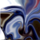 Vivid blue blurred background Stock Photos