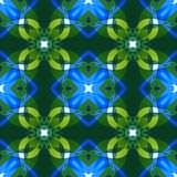 Vivid blue green abstract texture. Complex background illustration. Textile print pattern. Cute seamless tile. Home decor fabric d. Vivid blue green abstract Stock Image