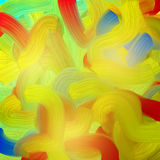 Vivid brush strokes background. Vivid brush strokes in multicolor stock illustration