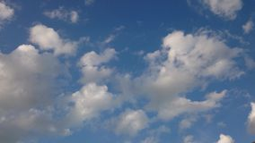 Vivid cloud and sky before the rain stock footage