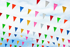 Vivid color of the cloth Stock Photography