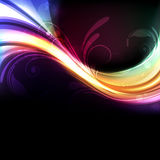 Vivid and colorful background. Colorful, bright and vivid abstract vector background Royalty Free Stock Photography