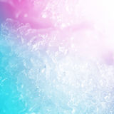 Vivid colorful ice Stock Photo