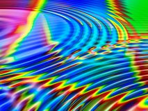 Vivid colors. Water ripples and colors abstract background Royalty Free Stock Photography