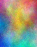 Vivid colors. Abstract painting in vivid colors royalty free illustration