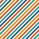 Vivid colors diagonal stripes abstract background. Thin slanting line wallpaper. Seamless pattern with classic motif. Vivid colors diagonal stripes abstract Stock Photography