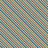 Vivid colors diagonal stripes abstract background. Thin slanting line wallpaper. Seamless pattern with classic motif. Stock Photography