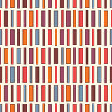 Vivid colors vertical lines background. Seamless pattern with geometric ornament. Stripes motif. Bright wallpaper. Stock Photography