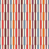 Vivid colors vertical lines background. Seamless pattern with geometric ornament. Stripes motif. Bright wallpaper. Royalty Free Stock Photography
