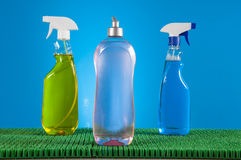 Vivid colors in washing concept Royalty Free Stock Photos