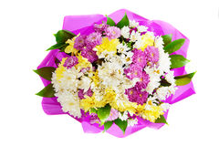 Vivid  decorative spring flower  bouquet Royalty Free Stock Images
