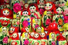 Bright dolls  Stock Photos