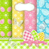 Vivid Easter backgrounds. Vivid Easter backgrounds for scrapbook.  Vector Stock Photography