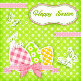 Vivid Easter card. Royalty Free Stock Photo
