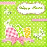Vivid Easter card. Vector illustration Royalty Free Stock Photo