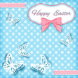 Vivid Easter card. Vector illustration Royalty Free Stock Image