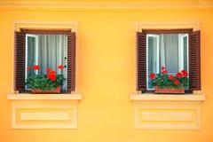 Vivid facade Stock Images