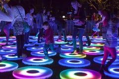 VIVID Festival 2014 Colorful Installation Stock Image