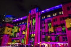 Vivid Festival, Sydney, Australia royalty free stock images