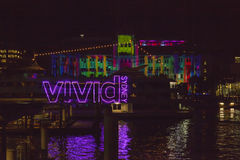 VIVID Festival Sydney Royalty Free Stock Images