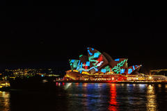 VIVID Festival Sydney Royalty Free Stock Photo