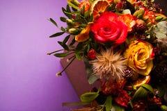 Vivid flowers background Stock Image