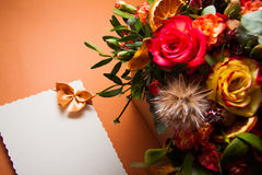 Vivid flowers background Stock Photography