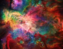 Galactic Space. Vivid Galactic Space. Elements of this image furnished by NASA vector illustration