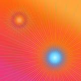 Vivid geometric abstract. Royalty Free Stock Photo