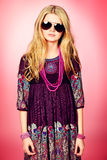 Vivid girl Stock Photo