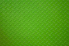 Vivid green metal plank surface Royalty Free Stock Image
