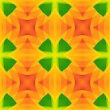 Vivid green orange abstract texture. Detailed background illustration. Seamless tile. Home decor fabric design sample. Tileable mo stock illustration