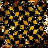 Vivid grunge chessboard backgound Stock Photo