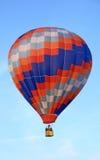 Vivid hot air balloon Stock Photos