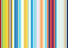 Vivid lines in colorful pink blue red phosphorescent pastel hues. Abstract vertical lines background and sparkling golden lights, in pink, orange, red, blue Stock Photography